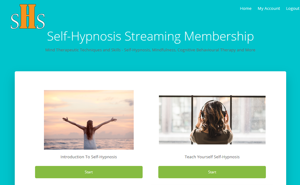 Seven Days Trial Membership – Self-Hypnosis Streaming